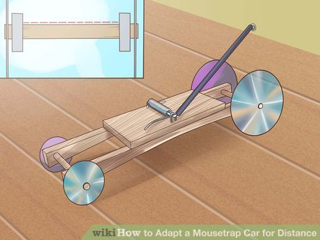 Image titled Adapt a Mousetrap Car for Distance Step 11