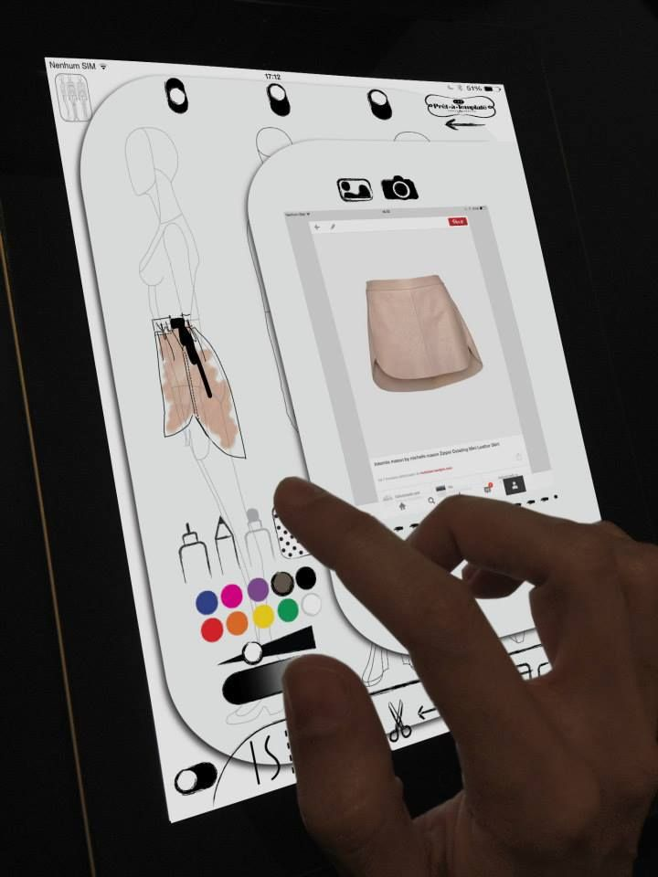 1000 images about ipad iphone daily fashion design for Blueprint sketch app