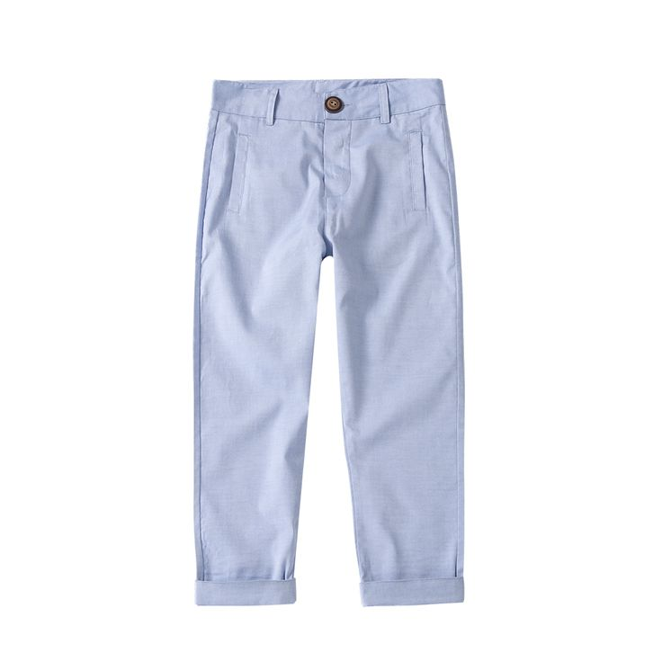 Blue Cotton Trousers / The Happyology Artist Collection