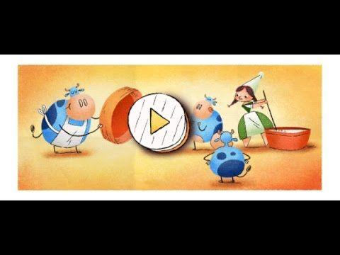 Il doodle di Google per il 256° compleanno di Marie Harel - www.HTO.tv