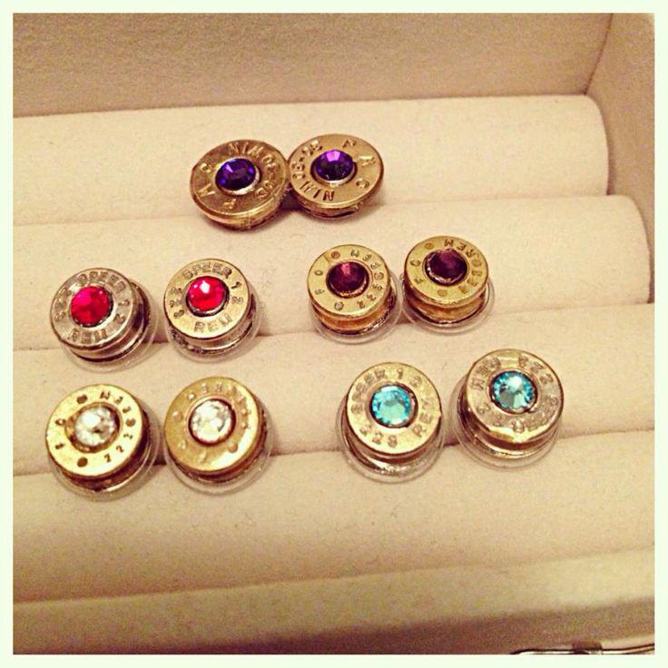 Bullet earrings  by LJGPhoneCaseDesigns on Etsy, $20.00