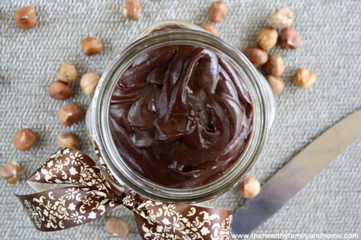 """Today is a great day because I have a Healthy Vegan Chocolate Hazelnut """"Nutella"""" Spread recipe for you to enjoy."""
