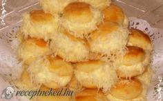 Borzas sajtos pogácsa recept fotóval