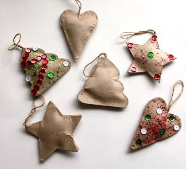 Decorate these puffy Christmas decorations. These were made using Shamrock Craft materials.