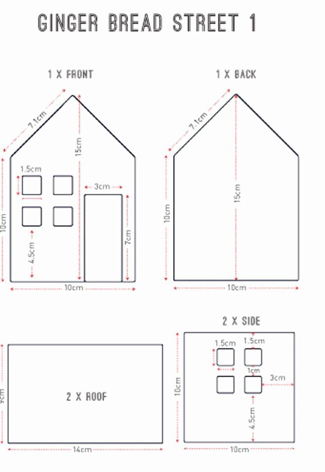 Victorian Gingerbread House Plans Fresh 20 Free Gingerbread House Templates 2019 Gingerbread House Template House Template Gingerbread House Template Printable