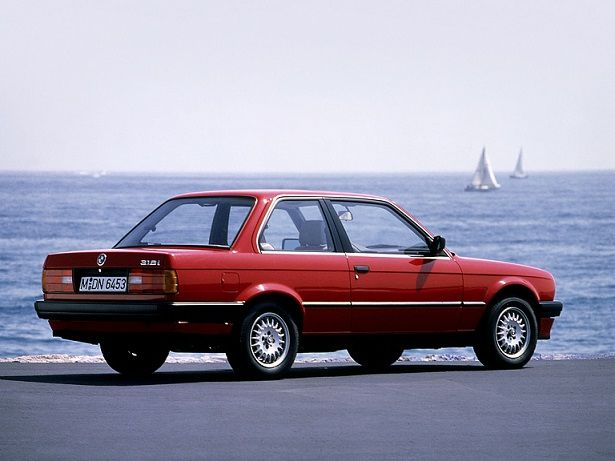 BMW 318 Coupe (1987).