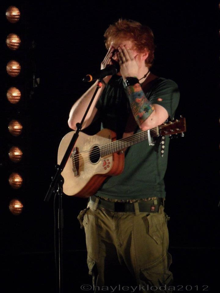 Ed Sheeran - QPAC Brisbane Australia 2012 Favorite