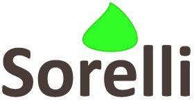 Sorelli - logotype made by Orangia AB