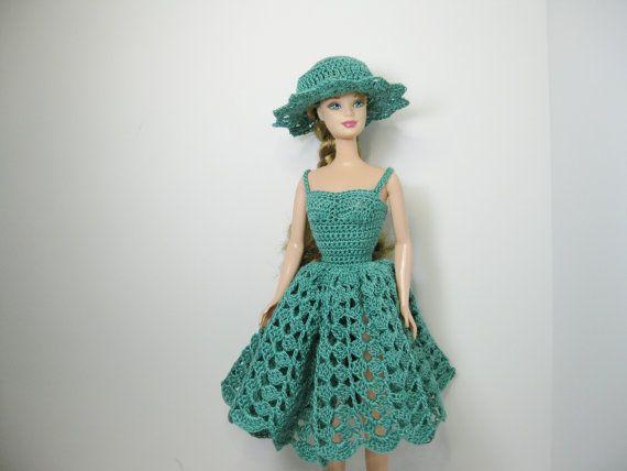 Knee Length Crochet Dress