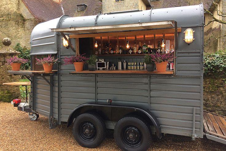 Vintage Bar Box Luxury Horsebox Mobile Bar Hire London
