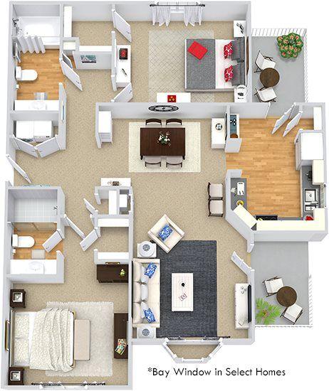 Bexley at Davidson floorplan 1