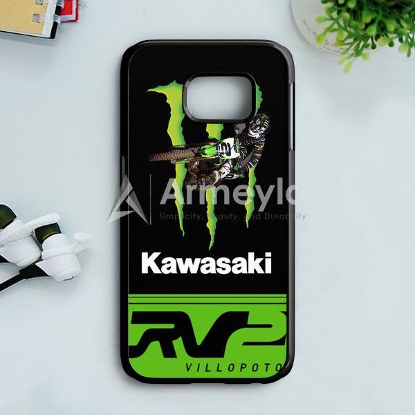 Ryan Villopoto Monster Thor Motocross Samsung Galaxy S7 Edge Case | armeyla.com