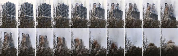 02.02.2014  ·  20 aus 97 Einzelaufnahmen der Sprengung, shot with Canon 5D Mark III, Canon EF 70-200mm 1:2,8l IS II USM