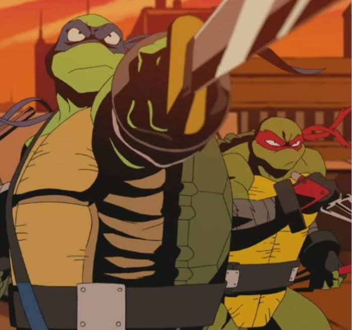 Leo And Raph Pic From Another Auman S Tmnt Short By