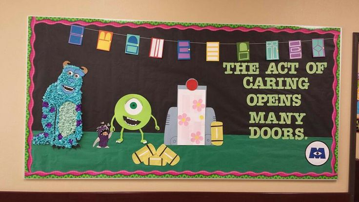My GP4 bulletin board- Monsters Inc