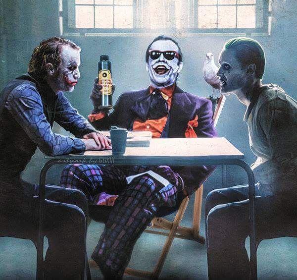 """Joker, this is Joker and this is Joker."""