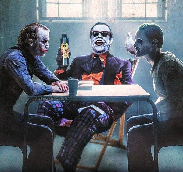 """Joker, this is Joker and this is Joker."""