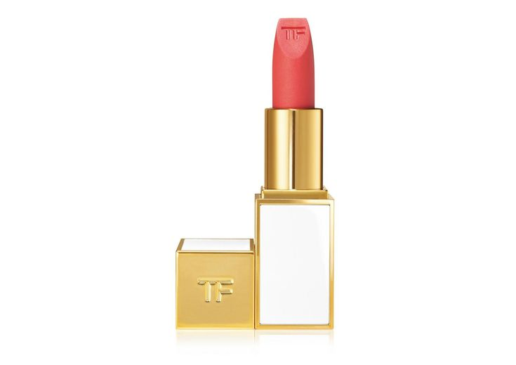 Harmonizing sensuous shades of shimmering nudes and hot, vivid colors, the limited edition lip color sheer collection delivers an irresistible effect that compliments sun-kissed, summer skin. A decadent mix of vitamins C and E and shea butter helps lavish the lips with saturated moisture. The distinct, beveled lip color sheer bullet is packaged in a retro-chic, ivory- and gold-colored TOM FORD case.