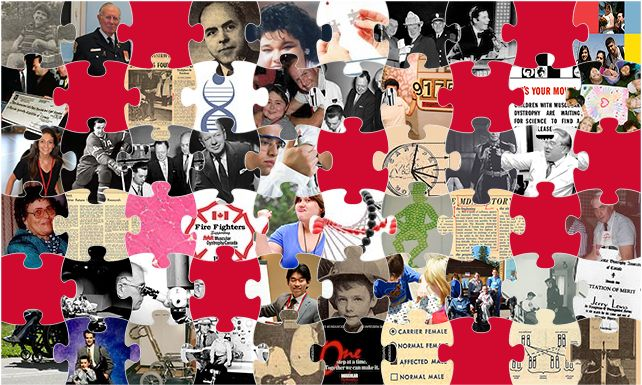 The 60 Years of Progress puzzle is almost full! The October stories have been added, come on over and check them out!
