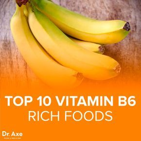 vitamin B6 foods - Dr.Axe Vitamin B6 deficiency symptoms include: Skin inflammation Depression Anemia Neurological degeneration Low energy Other roles of vitamin B6 include the formation of hemoglobin and neurotransmitters, as well as regulation of blood glucose. The RDA for Vitamin B6 is 1.3 mg/day. The Daily Value is 2mg. If you struggle with any of the above symptoms including low energy, skin issues or depression make sure to incorporate these high vitamin B6 foods into your diet.