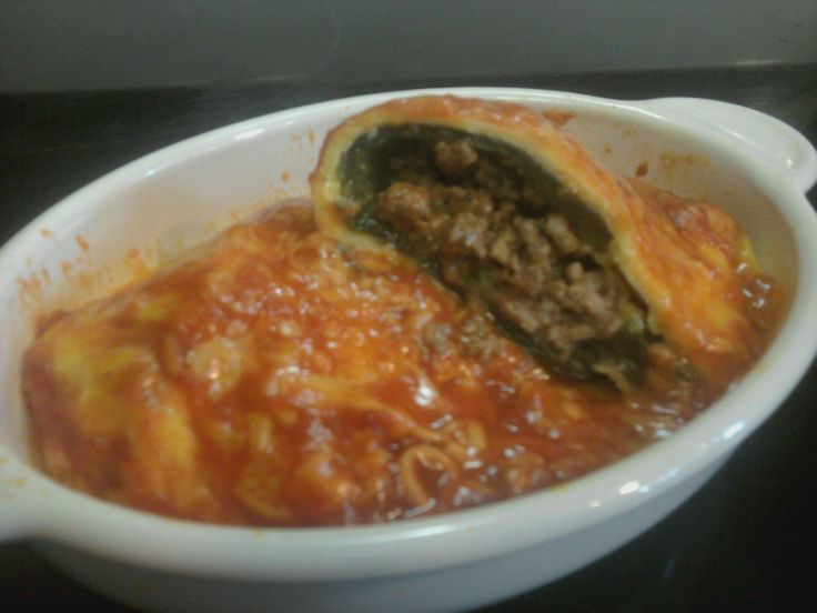 Baked Chile Relleno Recipes   Poblano Chile Relleno   Cori's Low Carb Life