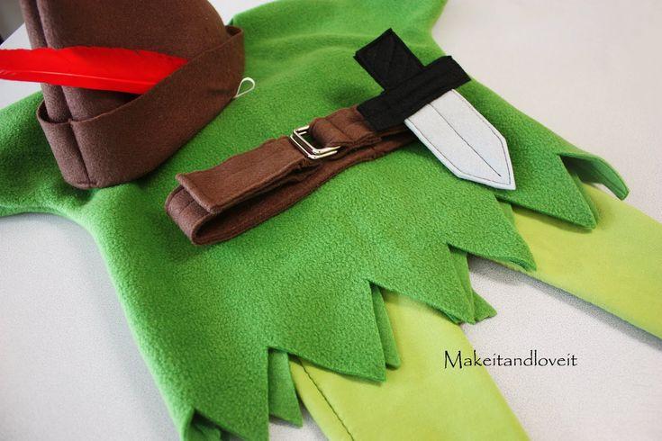 Peter Pan Costume!! Easy sew!! #KidsCostume #Halloween