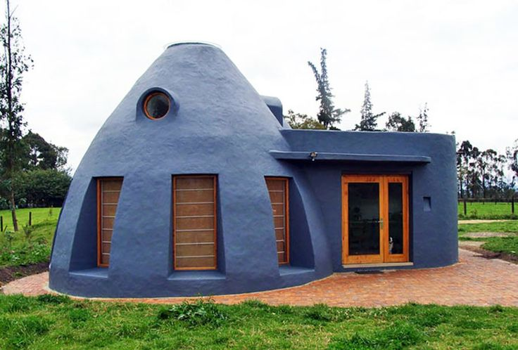 Let these earth houses inspire you to build your own affordable home from sustainable materials.
