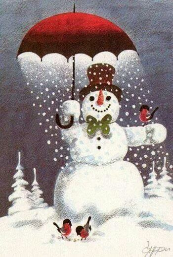 Dompap og snemand