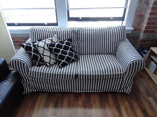 Ikea Ektorp Loveseat and Pillows