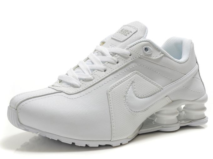 online store 6adaa cb722 ... Nike Shox R4 Womens Running Shoes - Full White 24 best Nursing ...