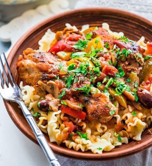 Υπέροχο+κοτόπουλο+κατσιατόρε+στο+φούρνο+(Video)