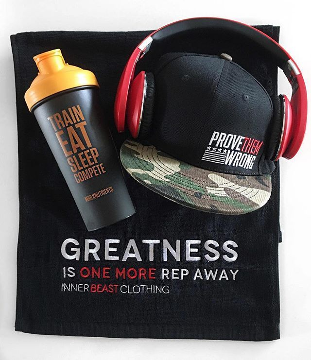 Gym essentials to keep you motivated! What are you working out today? Thanks to Jason for this dope photo @chubbyxpac !