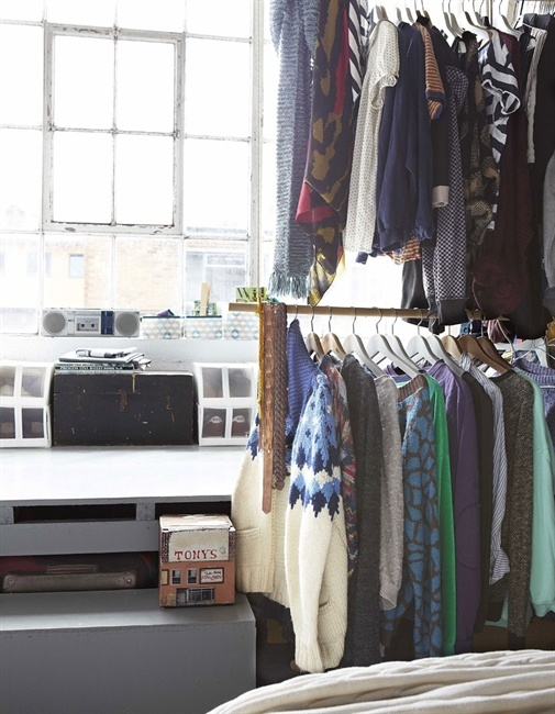 1000 images about bedroom storage ideas on pinterest - Clothing storage ideas no closet ...
