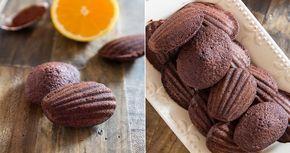 A világhírű Madeleine keksz, kakaós, narancsos változata! Egyszerűen káprázatos!