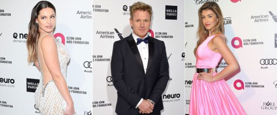 Oscars 2015: Kelly Brook, Gordon Ramsay And Amy Willerton Somehow Landed Invites To Academy Awards Parties (PICS)