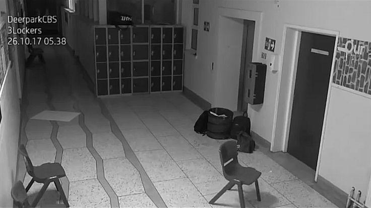 Kamera je u školi tokom noći snimila JEZIV prizor! Da li verujete u duhove?