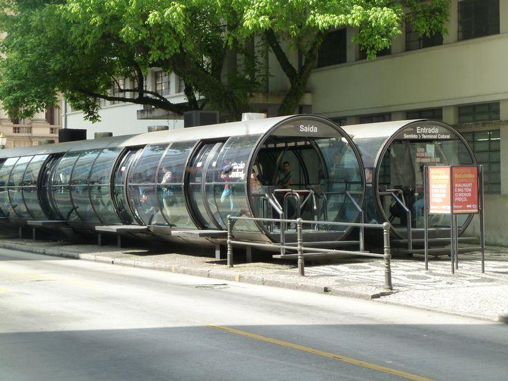 Bus shelter @ Curitiba, Brazil
