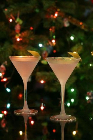 """Happy New Year!"" Finlandia Arctic Cosmo Martini:   50 ml vodka Finlandia Cranberry  13 ml Cointreau  5 ml cranberry juice  1 tbsp. fresh lime juice  Shake. Serve in frosted cocktail glass. Garnish w/lime wedge. CHEERS!"