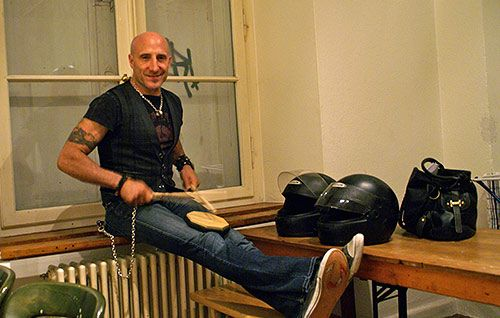One of the world's most influential and in-demand drummers, Kenny Aronoff is an IU alum and current Bloomington resident.