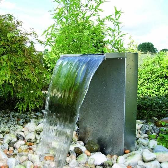 rvs waterelement tuin