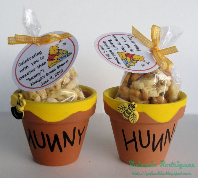 9a06fe574542 I am so doing this and something with Scooby Doo for my bridal shower!!  Bridal Shower Favor - Winnie the Pooh