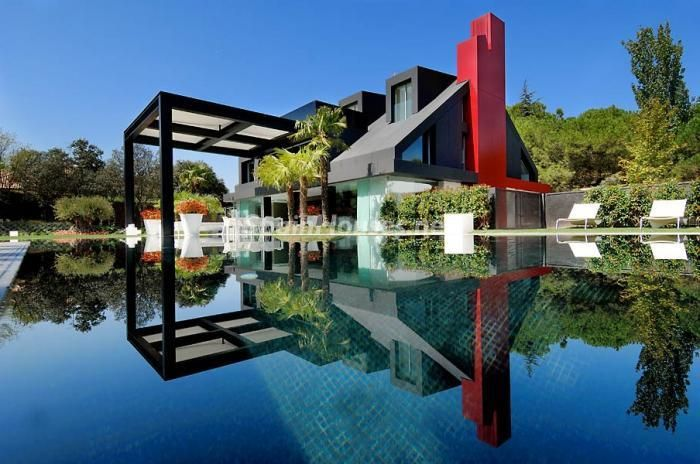 Villa de lujo en la Moraleja, Madrid, España.