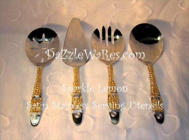 65 best beaded serving utensils by dazzlewares images on pinterest. Black Bedroom Furniture Sets. Home Design Ideas