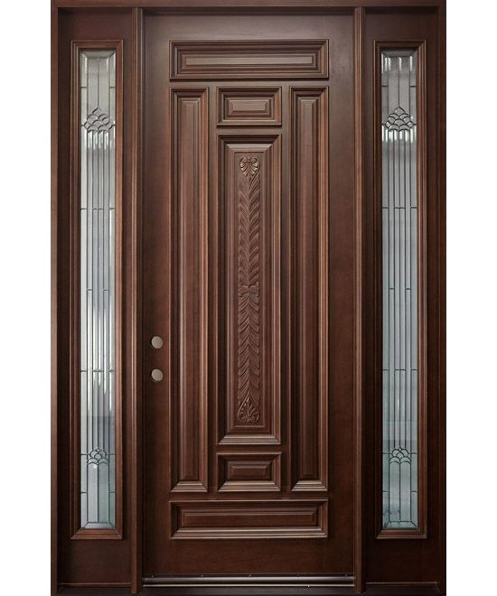 Entrance Doors Product | Classic Collection Solid Wood Entry Door