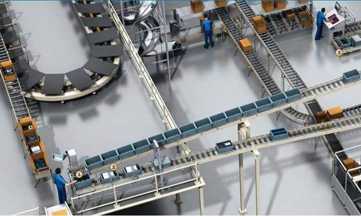 linea #automatizada, cintas transportadoras, sistemas que Intrave.com puede desarrollar para su #industria