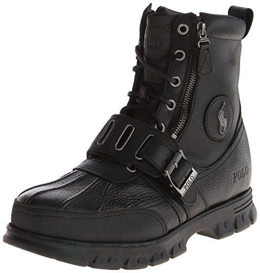 Amazon.com | Polo Ralph Lauren Men's Andres III Boot | Snow Boots