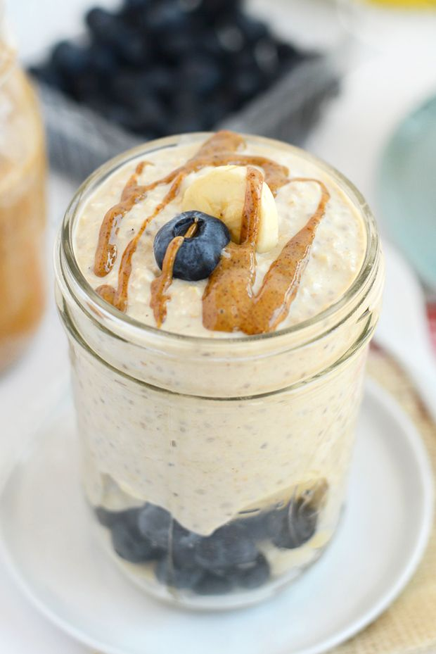 8 Ways to Eat Overnight Oats - - Got 5 minutes? Prep your breakfast the night before and eat a fiber-rich meal the next morning that's delicious and healthy!!