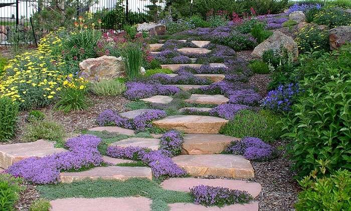Landscaping for hillsides ideas hillside landscaping for How to landscape a hill on a budget