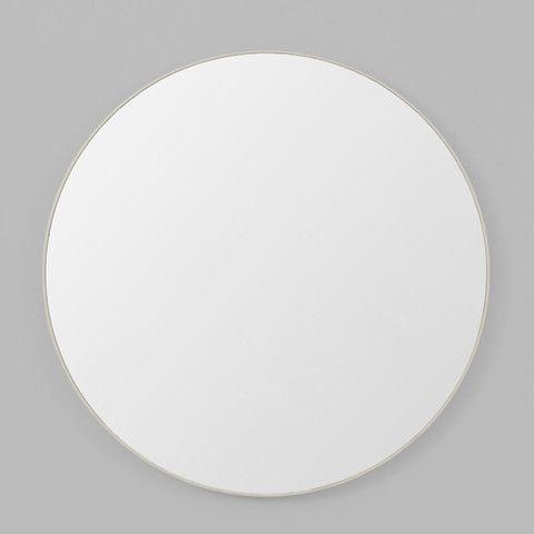 Flynn Round Mirror - Light Grey   MINT Interior Design