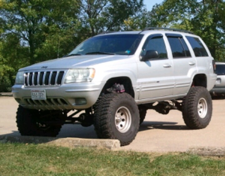 jeep lifted cherokee grand lift wj 2002 zj 35s jeeps 8in light inch bar tires led discover
